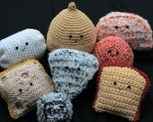 SALE Crochet Cheese Collection PATTERNS