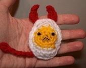Deviled Egg PATTERN -- Crochet