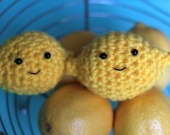Little Crochet Lemon