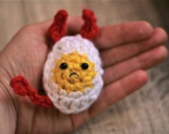 Deviled Egg -- Crochet