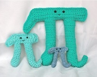 Pi family PATTERNS -- Crochet