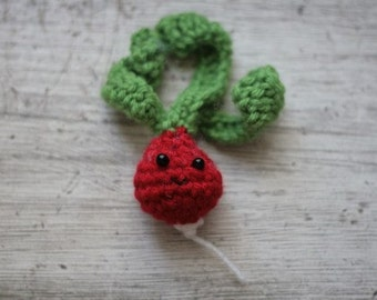 Cute little radish -- crochet plush