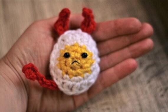 Deviled Egg -- Crochet