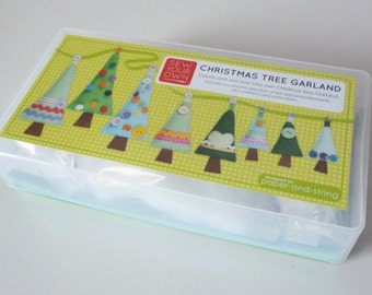 Sew Your Own Christmas Tree Garland Kit