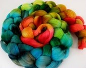 Reserve Listing for Mia Paranoia (paranoyarns)- Day's End (Frog and Carp)- 4 oz Polwarth wool combed top spin weave felt
