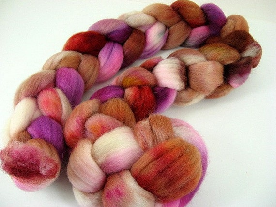 Day's End (Betsy) - Falkland wool combed top roving 4 oz