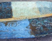 Sea and Sky Personalized Wedding Platter - Made To Order - Blues - Greens