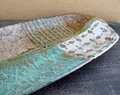 Personalized Wedding Platter - Custom - Earthy - Pastel - Nature - Leaves