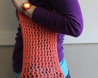 WORKSHELTER Market Bag Knitting Pattern