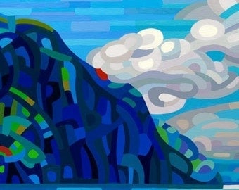 Abstract Fine Art Print - Old Woman Bay