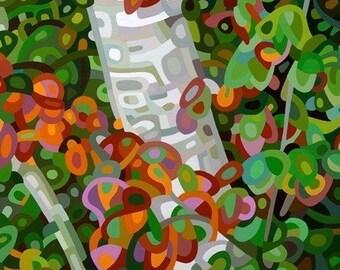 budanArt 8.5 x 11 Print - Forest Patterns