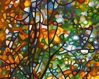 Abstract Fine Art Print - Summer Tree
