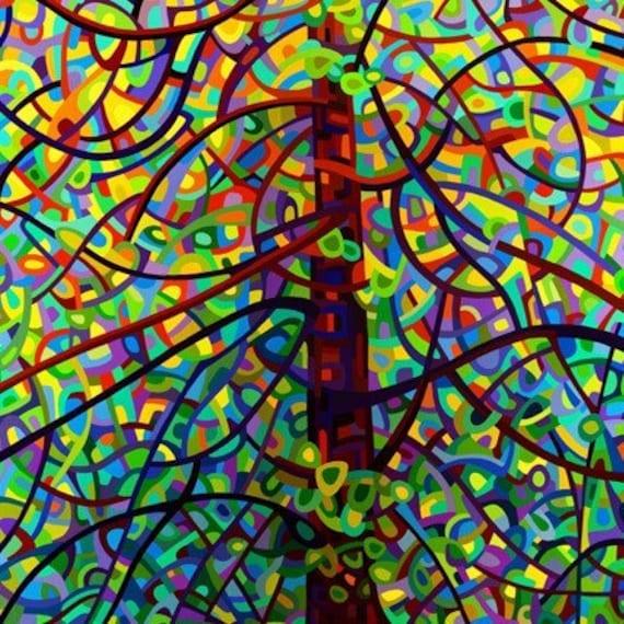 Abstract Fine Art Print - Kaleidoscope