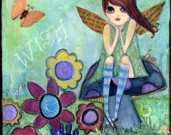 wish...dream...be...fairy