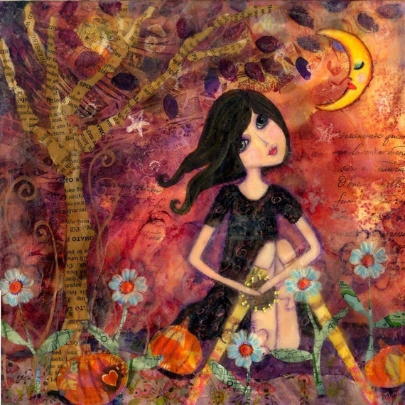 tambourine girl...