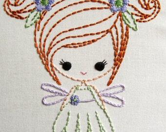 Fairy, Genie, and  Big Bow Dress up Cutesie Girls Digital Embroidery Patterns