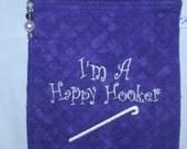 Happy Hooker Crochet Travel Pouch
