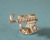 Sterling Silver Ray Gun Cufflinks