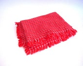 Red Mountain Weave Cotton Table Cloth