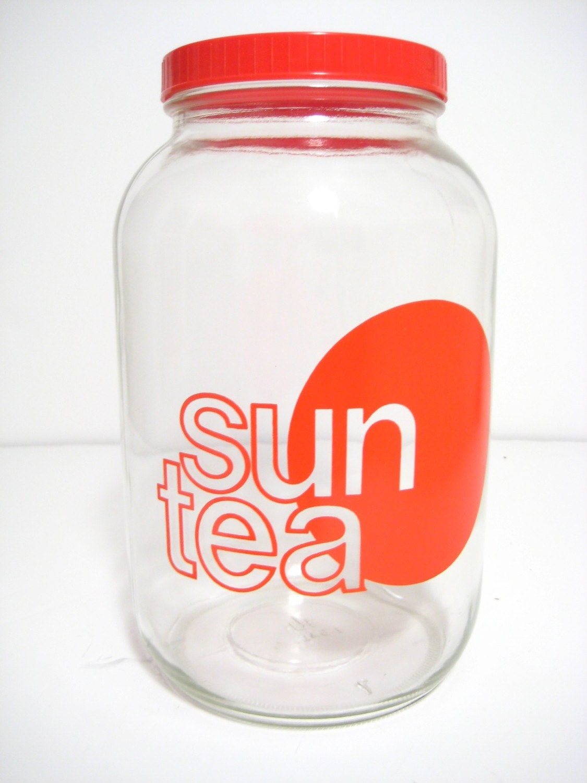 Vintage One Gallon Sun Tea Jar