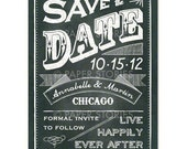 Custom Listing for Whitney George - Save the Date Template