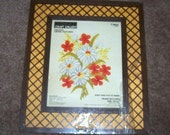 Vintage Crewel Embroidery Kit