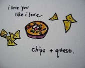 chips and queso love