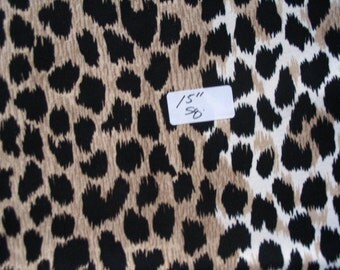 Ultrasuede Leopard print