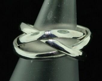 Borromean Rings in Sterling Silver