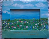 CONSIDER THE LILIES - Framed Original Painting - 8x10  - by Majo