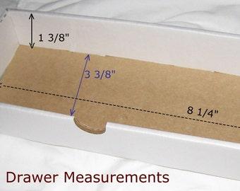 2 Craft storage drawers-washi tape storage-SET of TWO