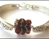 Silver Spoon Bracelet Raspberry