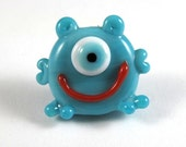 Clyde this Adorable Handmade Glass Monster Bead