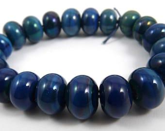 Set of Twenty Kronos Accent Handmade Glass Beads