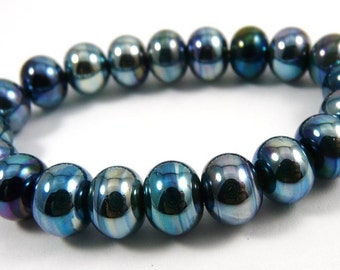 Set of Twenty Micro Triton Handmade Glass Beads