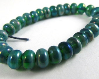Free Shipping for this Mega Set of Thirty Micro Gaia Handmade Glass Beads