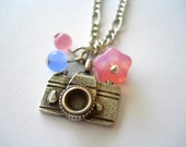 Whimsical Camera Necklace