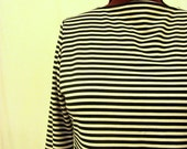 The Andy Mod Striped Plus Size Tunic Top 2x