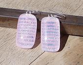 Pinkalishous Fused Glass Earrings