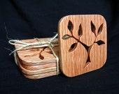 Oak Coasters - Set of 4 - Branch
