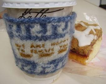 KIT - Greek Deli Cup Coffee Cozy