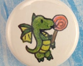 OOAK Dragonling Magnet--Yranth