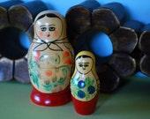Vintage Russian Matryoshka Nesting Doll - 1960s