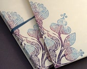 Lilac Bloom Notecards, set of four