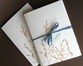 Copper Meadow Notecards, set of 4