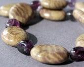 Jasper and Flourite Necklace