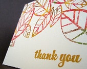Autumn Splendor Thank You Notecards