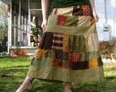 CLEARANCE Latham Patchwork Skirt