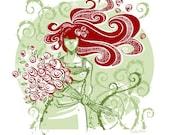 Original Screen Print - Ivy and The Roses