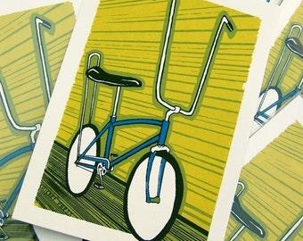 Stingray Bike Art Print